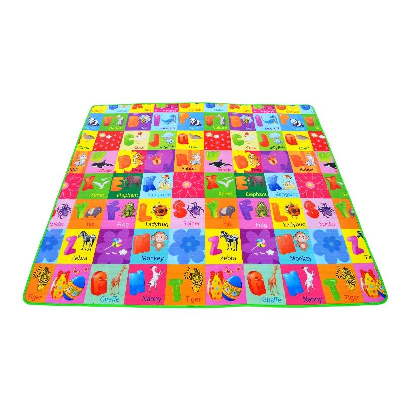 HTB144gUGFGWBuNjy0Fbq6z4sXXa1 0.5cm Thickness Children's Rug Baby Playing Mats Soft EVA Foam Double Side Patterns Child Carpets For Kids Crawling Gym Mats