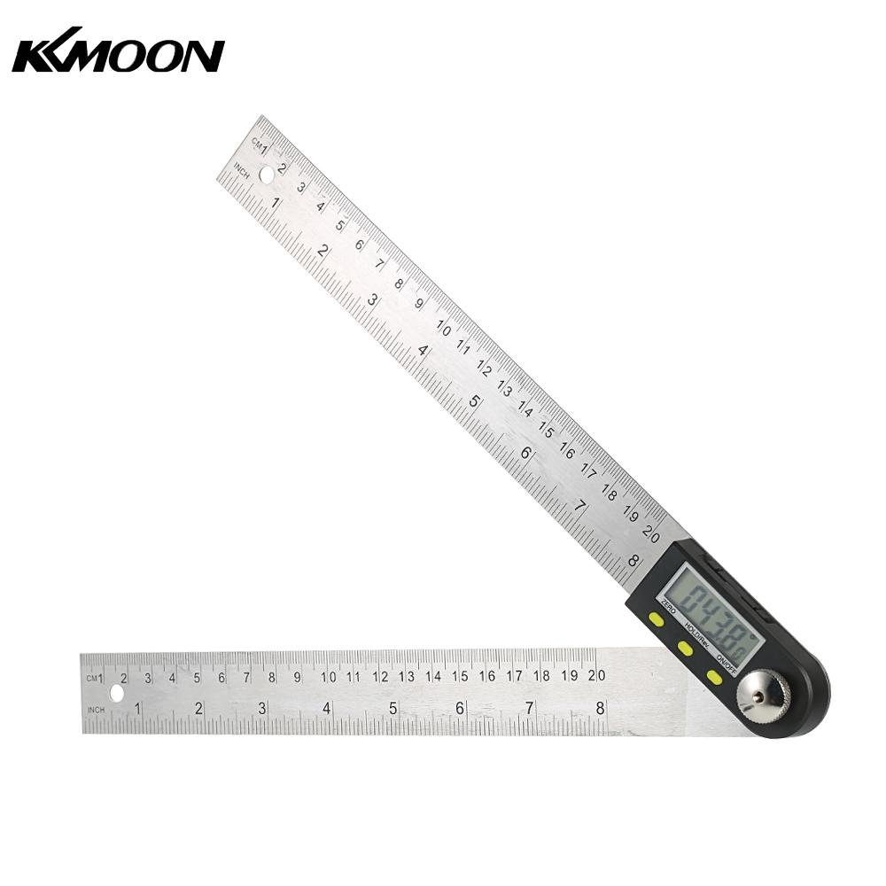 все цены на 200mm 8inch Digital Protractor Inclinometer Level Measuring Tool Electronic Angle Gauge Stainless Steel Angle Ruler