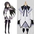 Puella Magi Madoka Magica Homura Akemi Cosplay Costume Dress Custom Made Any Size