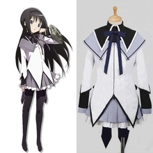 Puella Magi Madoka Magica Cosplay Costume Homura Akemi Cospl