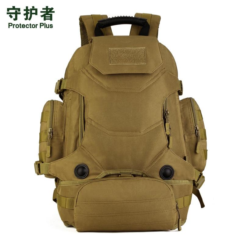 Hot unisexe 40L multi-fonction Camouflage sac à dos tactique militaire en Nylon taille Pack imperméable à l'eau en plein air voyage randonnée sacs - 2