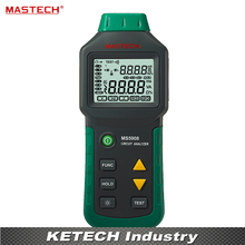 Circuit Analyzer TRMS AC Low Voltage Distribution Line Fault Tester RCD GFCI Sockets Testing Mastech MS5908