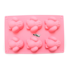 Silicone Soap Mold Cute Penguin Shape Chocolate Candy Mould Cake Decorating Tools