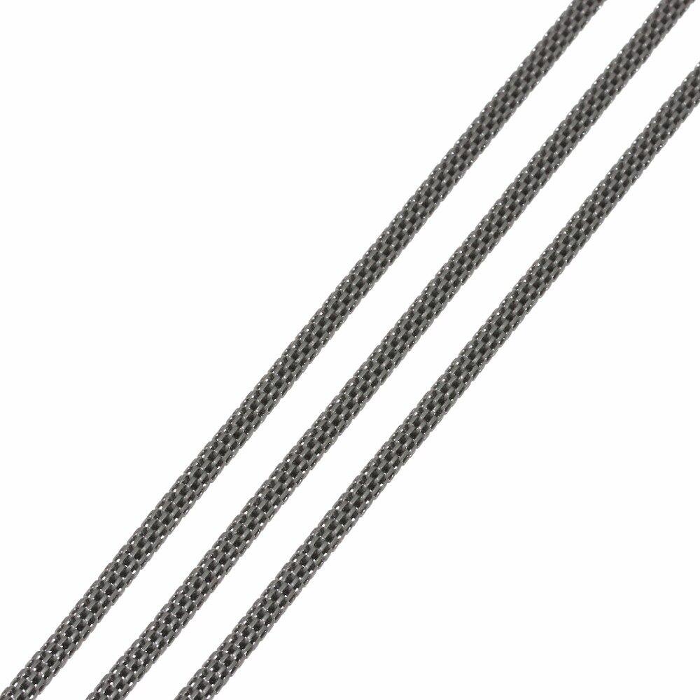 5 шт 12 м Длина 3 мм сырой металлические стальные цепи Ювелирная