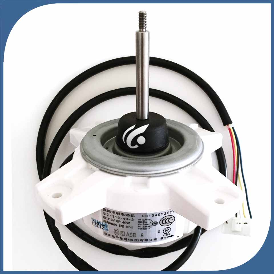 new good working for Air conditioner Fan motor machine motor DC310V SIC-310-40-2 40W 0010403322A DC motor good working megairon 2 dn50 sanitary female threaded ferrule pipe fittings tri clamp type stainless steel ss316