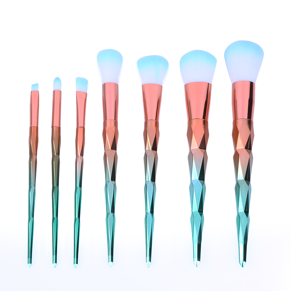 7pcs/set Makeup Brushes Cosmetic Foundation Eyeshadow Blusher Powder Brush Pinceis de Maquiagem Facial Beauty Make up Brushes 10pcs set professional makeup brushes set kit de pinceis make up brush maleta de maquiage makeup brushe set cosmetic brushes set