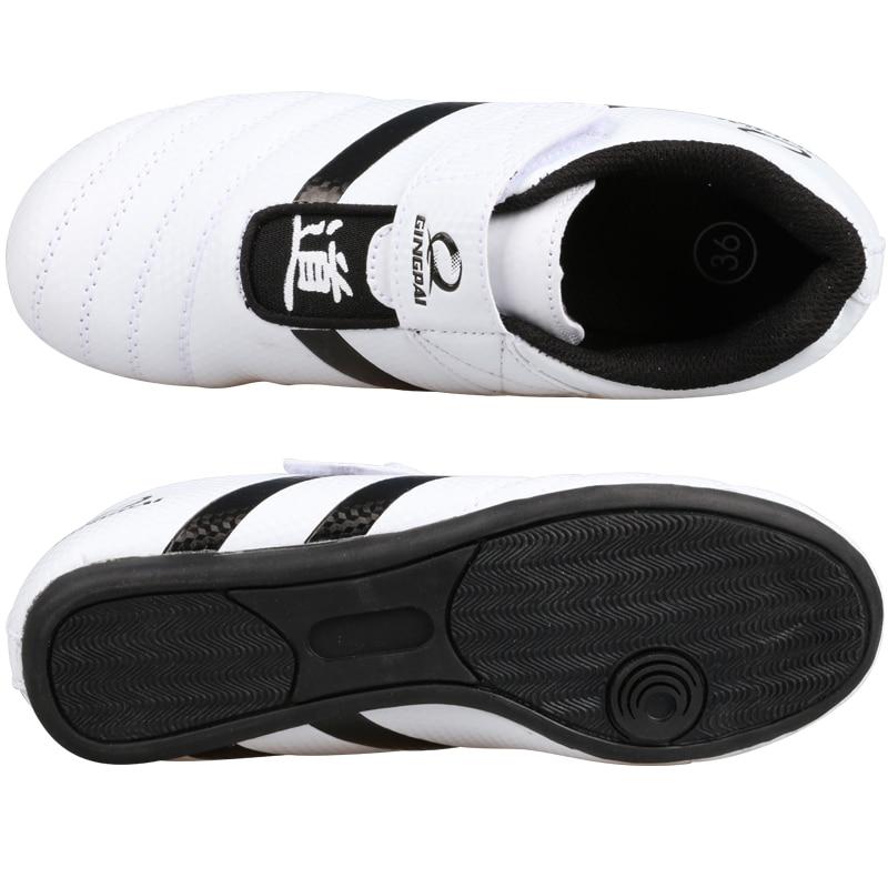Hot Good quality taekwondo uniform Taekwondo shoes black V neck karate dobok WTF approve cotton 1