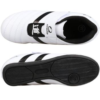 Hot Good quality taekwondo uniform Taekwondo shoes black V neck karate dobok WTF approve cotton