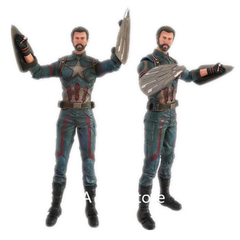 """12"""" Avengers Infinity War Captain America PVC Action Figure Collectible Model Toy"""