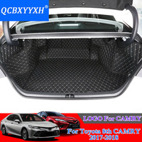 For Toyota Camry 2017 2018 Car Boot Mat Rear Trunk Liner Cargo Floor Carpet Tray Protector