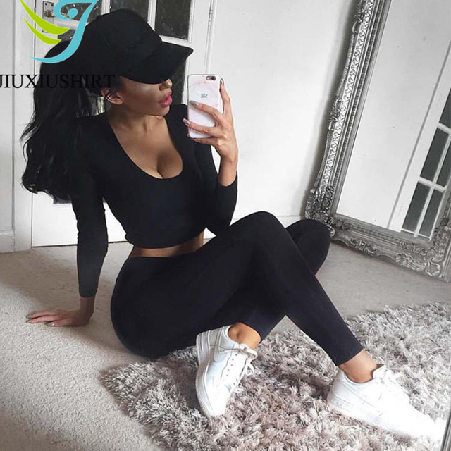 Running Sports Yoga Set Fitness Gym Tracksuit