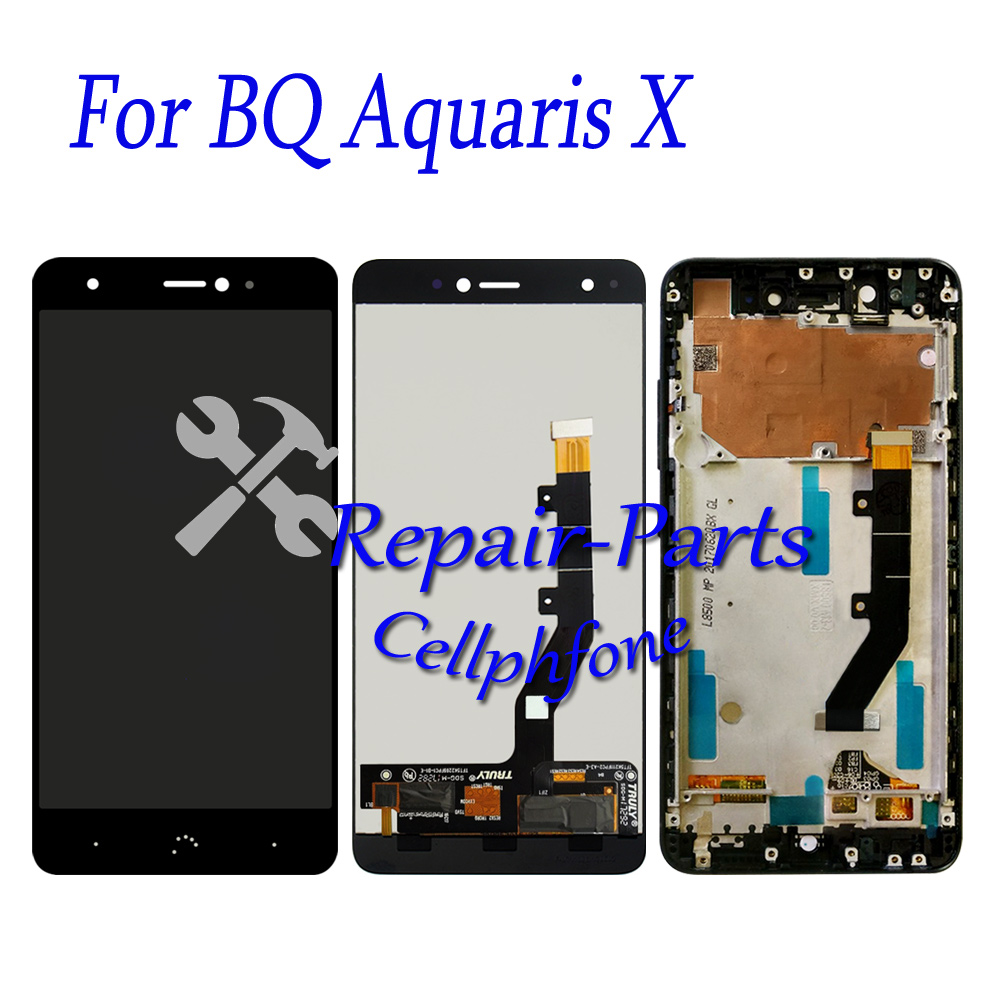 5.2 inch Black / White 100% New Full LCD DIsplay+Touch Screen Digitizer Assembly With Frame For BQ Aquaris X / Aquaris X Pro5.2 inch Black / White 100% New Full LCD DIsplay+Touch Screen Digitizer Assembly With Frame For BQ Aquaris X / Aquaris X Pro
