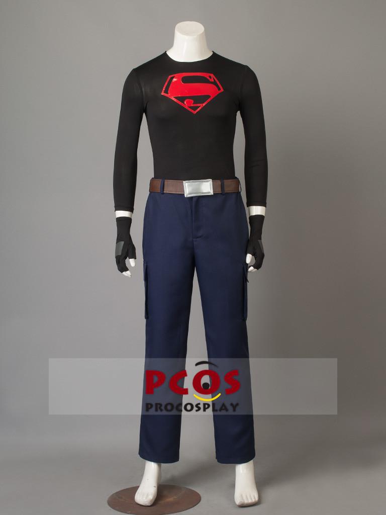 Anime Costumes Women's Costumes Strong-Willed Superboy Kon-el Cosplay Costume Kid Superman Conner Kent Cosplay Costume Young Justice Cosplay Mp003854 Bracing Up The Whole System And Strengthening It