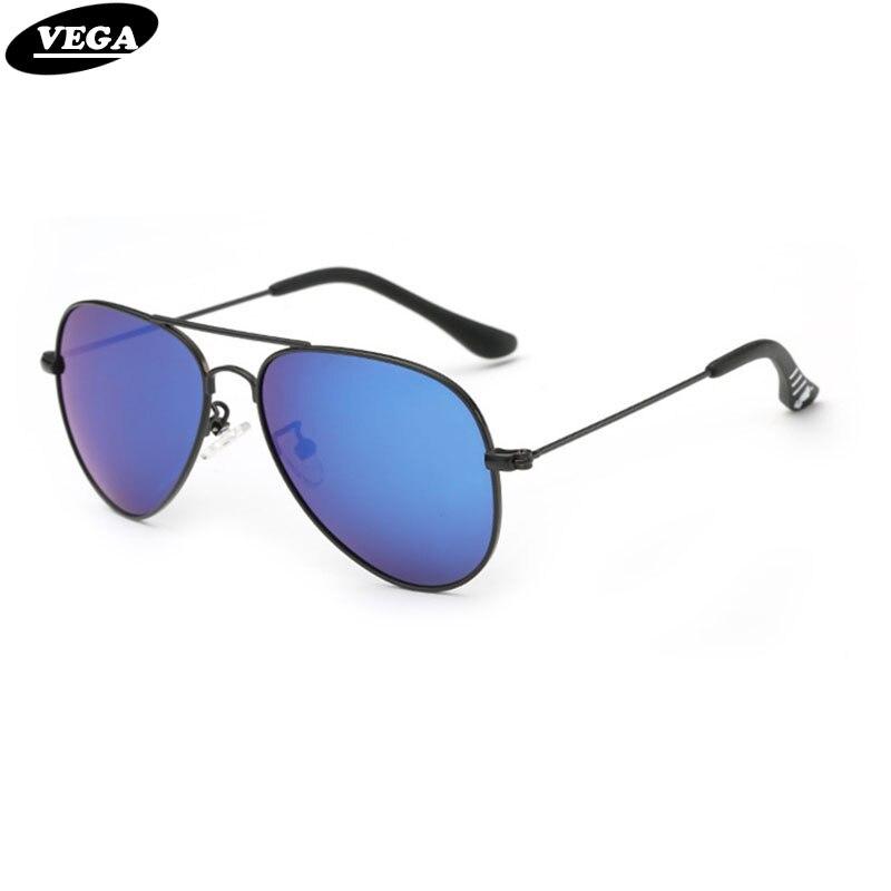 VEGA Polarized Kids Sunglasses For Girls Boys Sunglasses Pilot Childrens Glasses Alloy Frame HD Vision Lenses 545 Солнцезащитные очки