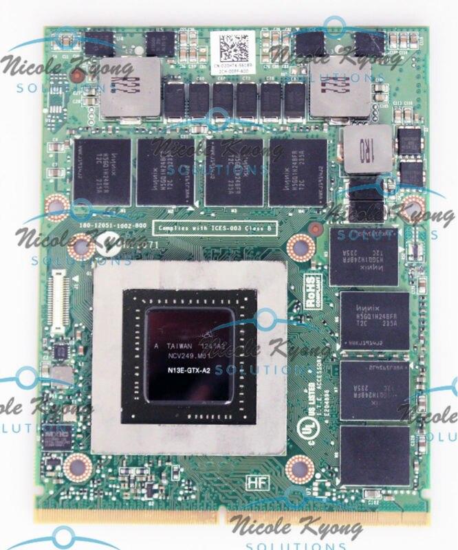 GTX680M GTX 680 M 2G VGA Carte Graphique Vidéo Module CPCXD 20HTK Pour Dell M17x M18x VGA Kit de Mise À Niveau M17x M18x R1 R2 R3 R4