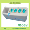Hot sell fashion household UV toothbrush case good quality UV-C light toothbrush sanitizer box/case/container