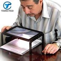 Desktop Magnifier Fresnel Magnifier Elderly People Children Reading Convenient