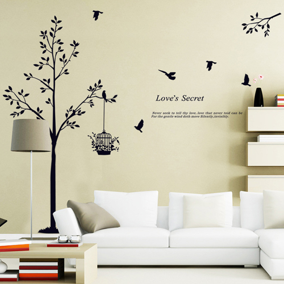 Compare Prices On Black Tree Wallpaper Online Shopping Buy Low