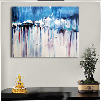 handmade oil painting on canvas modern 100%  Best Art Modern Abstract  oil painting original  directly from artis   XD1-306
