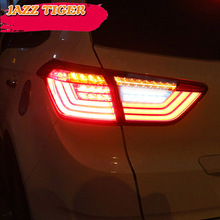 Car styling Tail Lights For Hyundai IX25 Creta 2014~2018 Led Tail Light Fog lamp Rear Lamp DRL + Brake + Park + Signal lights все цены