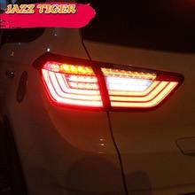 Car styling Tail Lights For Hyundai IX25 Creta 2014~2018 Led Tail Light Fog lamp Rear Lamp DRL + Brake + Park + Signal lights цена в Москве и Питере