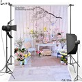 Happy Easter Vinyl Photography Background For Children Flower Oxford Backdrop For photo studio Props 206