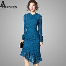 в рукавами платье-футляр асимметричное