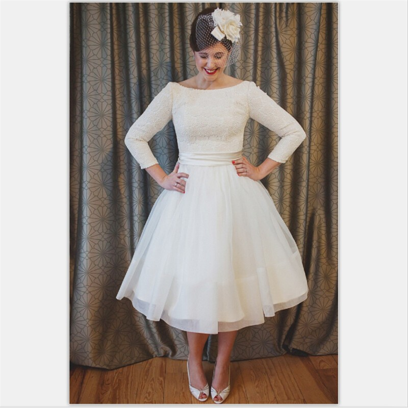 1950s Wedding Dresses Plus Size Style Plus Dress