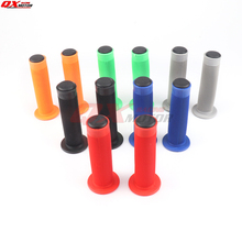 Rubber Bike Handlebar Grips Cover BMX MTB Mountain Bicycle Handles Anti-skid Bicycles Bar Grips Fixed Gear Bicycle Parts цена