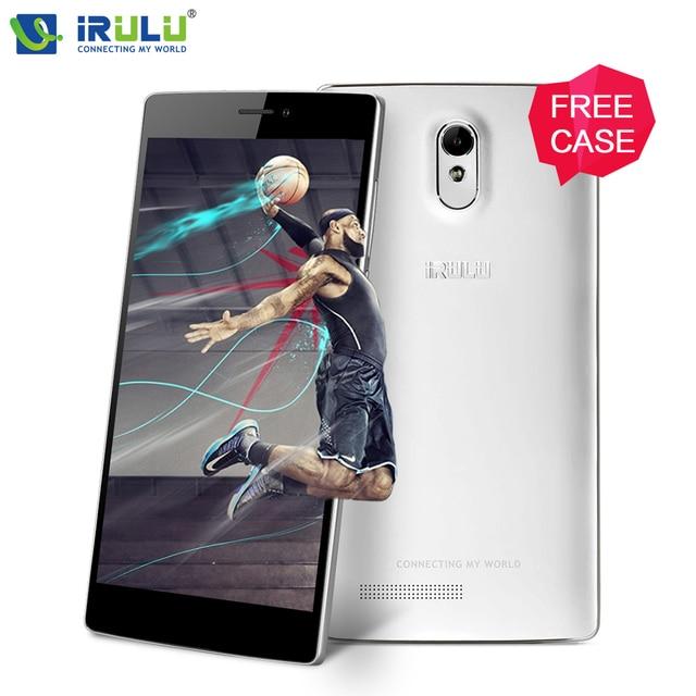 "iRULU Victory V3 EU Version 6.5"" HD IPS 4G Smart phone MSM8916 Android 5.1 Quad Core 1G/8G Mobile Phone Dual SIM Free Cover Hot"