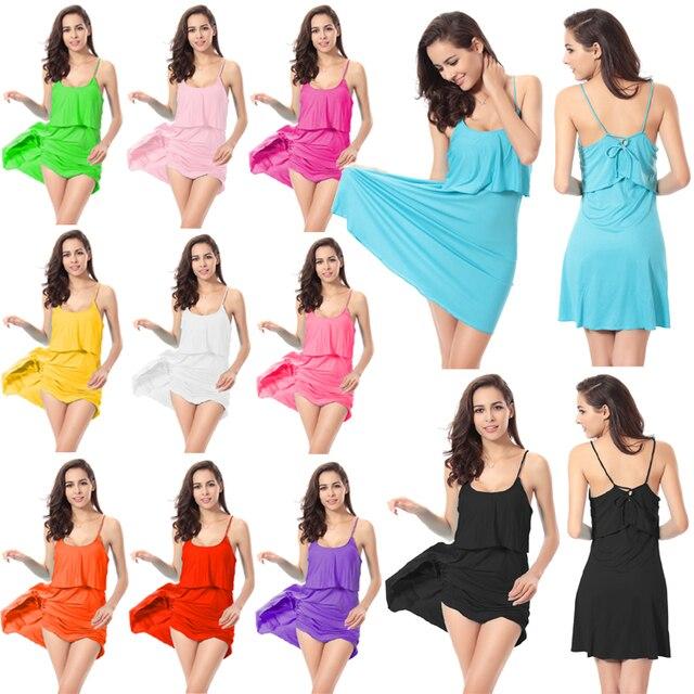 300468c72d New Arrival Hot Wholesale Popular VS Style 2017 Flounced Wrap Top Back  Cross Tie Cover Up Dress Crochet Summer Beach