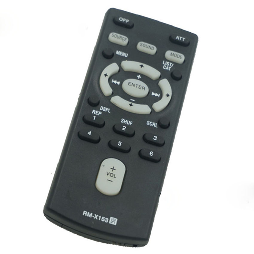 NEW Replaced Remote Control For SONY RM-X153 RM-X151 RM-X154 Glove Box Kept Remote Control For Sony Car Stereos Fernbedienung