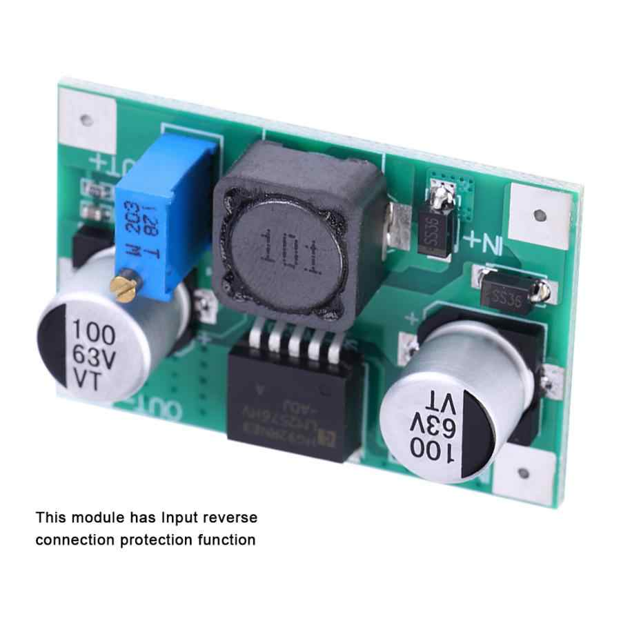 العاكس DC-DC المدخلات 5-60 فولت إلى إخراج 1.25-26 فولت قابل للتعديل تنحى وحدة تيار مستمر تيار مستمر محول جهد كهربي