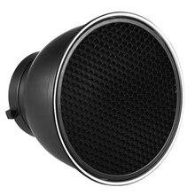 Diffuser-Lamp Honeycomb-Grid Standard-Reflector Bowens Flashlight Speedlite Mount-Studio