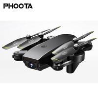 Phoota 1080P Camera Drone 6 Axis Gift RC Hover Quadcopter Foldable Toy 1080P Camera UAV Drone