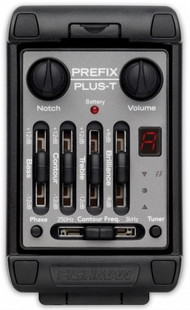 Fishman Prefix Plus T Onboard Preamp Matrix Pickup EQ Tuner Piezo Pickup Equalizer System Acoustic Guitar