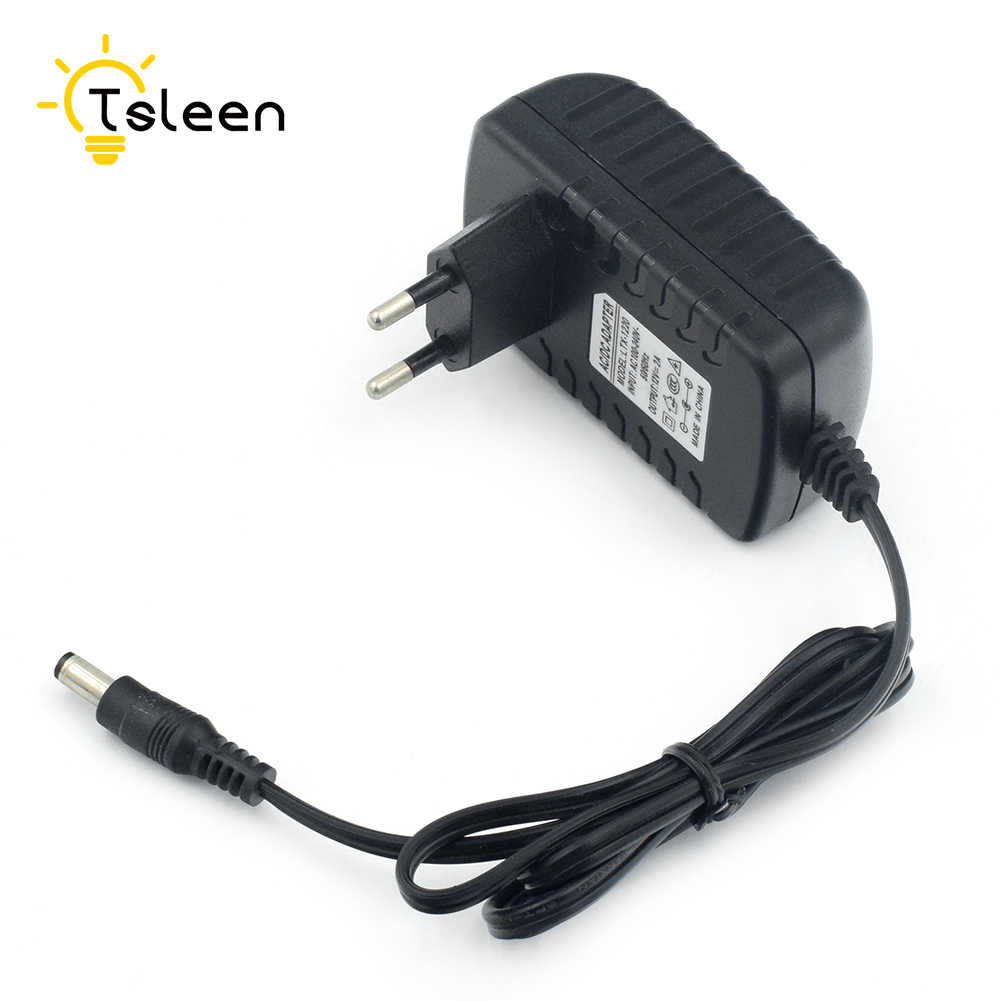 110V 220V 230V 240V à DC 12V 2A adaptateur d'alimentation pour CCTV LED chaîne lumière EU US UK Plug 1M 3528 LED chaîne étanche RGB