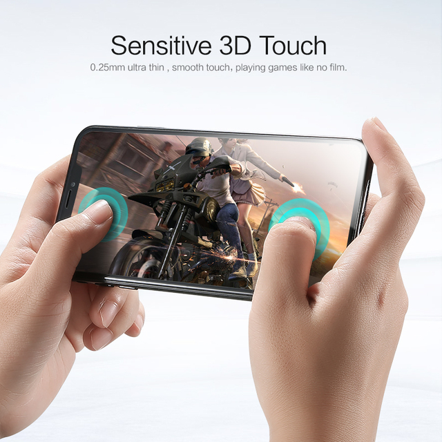 3D Full Cover Tempered Glass for iPhone