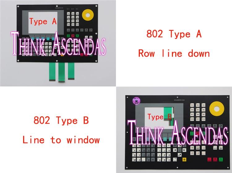 все цены на 1pcs New 802 802C 6FC5500-0AA11-1AA0 6FC5 500-0AA11-1AA0 / 6FC5500-0AA11-2AA0 6FC5 500-0AA11-2AA0 Membrane Keypad TypeA TypeB онлайн
