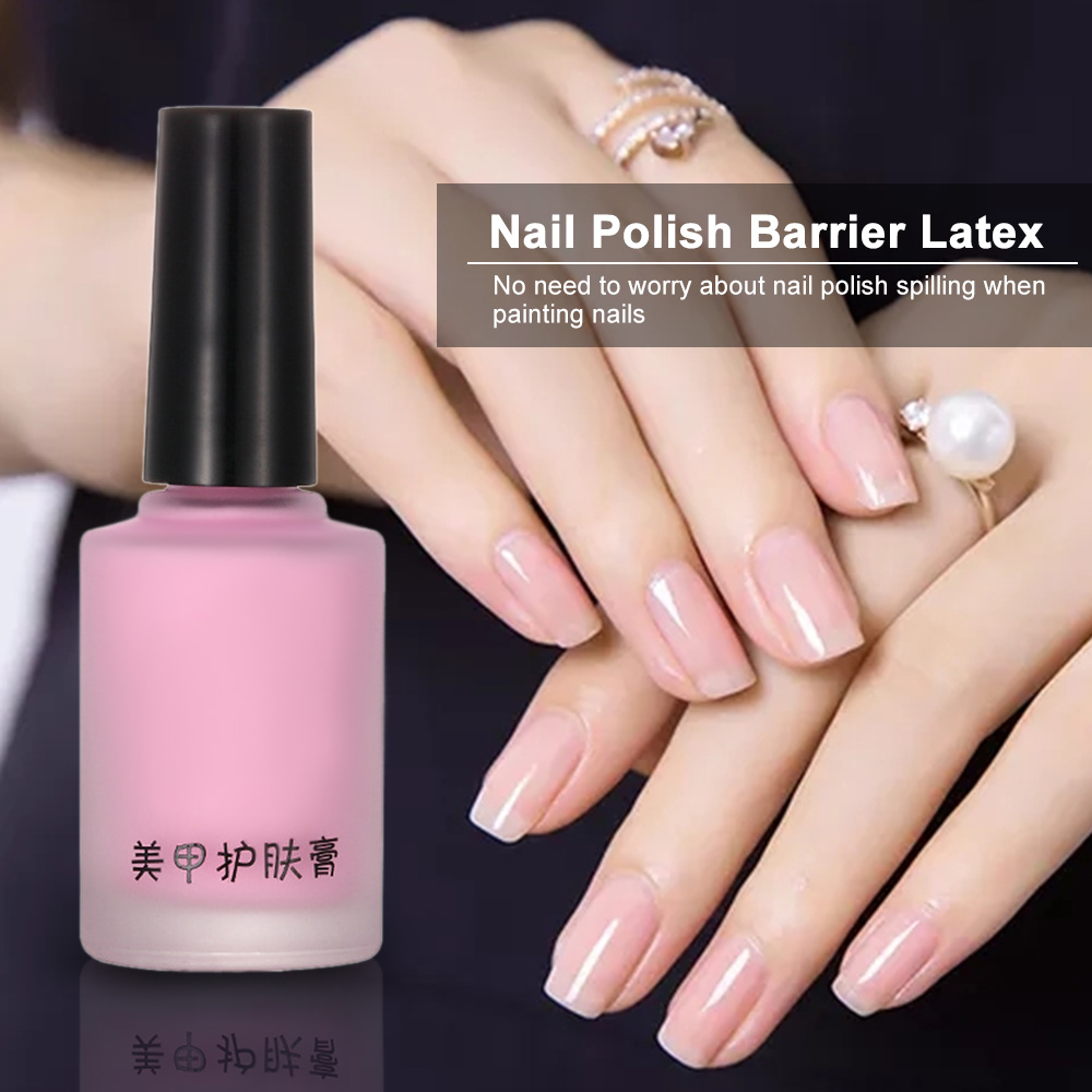 Nail Beauty Liquid Latex L Off Tape Odorless Cuticle Guard Polish Shield Barrier Skin Protector