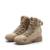 YJP Mens Botas De Cuero Militares, nuevo Top Lace-up Botas Tácticas, Botas Militares de Combate al aire libre Con Cremallera, Zapatos de Los Hombres de Las Fuerzas especiales