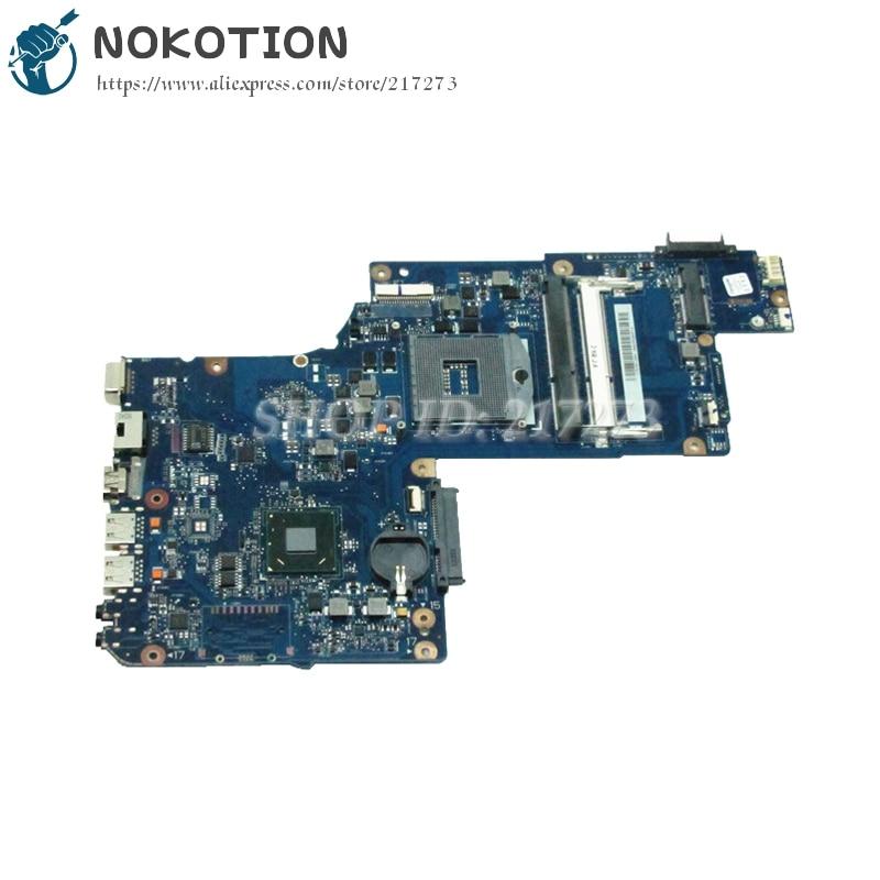 NOKOTION H000043480 MAIN BOARD For Toshiba Satellite L870 C870 L875 Laptop Motherboard 17.3 inch HM76 UMA DDR3 original plabx csabx uma main board h000043610 for toshiba c870d c875d laptop e2 1 7g processor m3l system integrated graphics