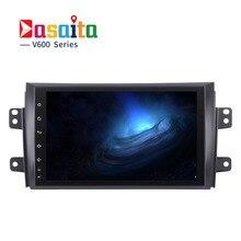Dasaita 9″ Android 6.0 Car GPS Player for Suzuki SX4 2006-2011 with Octa Core 2GB No DVD auto multimedia Stereo NAVI Radio 4G