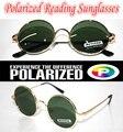!!!Polarized reading sunglasses!!! Round  vintage  gold  Ozzy style POLARIZED SUNGLASSES +1.0 +1.5 +2.0 +2.5 +3.0 +3.5 +4.0