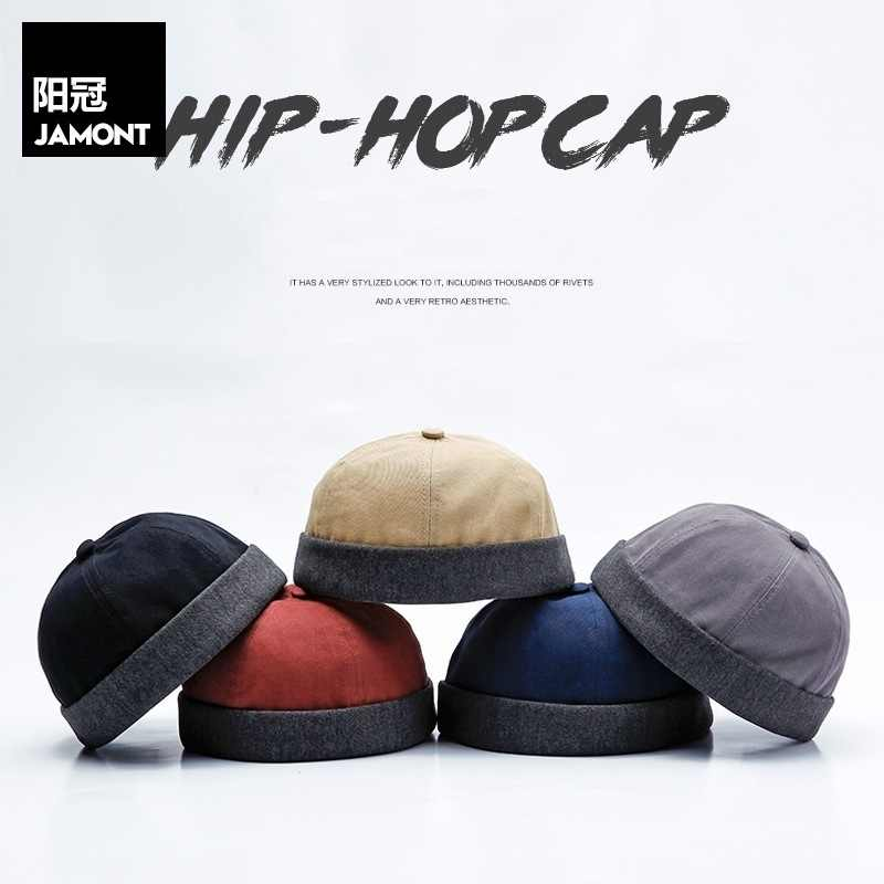 cafc9980 ... JAMONT New Chinese Landlord Bucket Cap Hats Men Women Street Watermelon  Cap Elder Hats Adjustable Folding ...