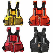 Adult Life Jacket Adjustable Buoyancy Aid Vests Sailing Fishing Kayak Vest(China)