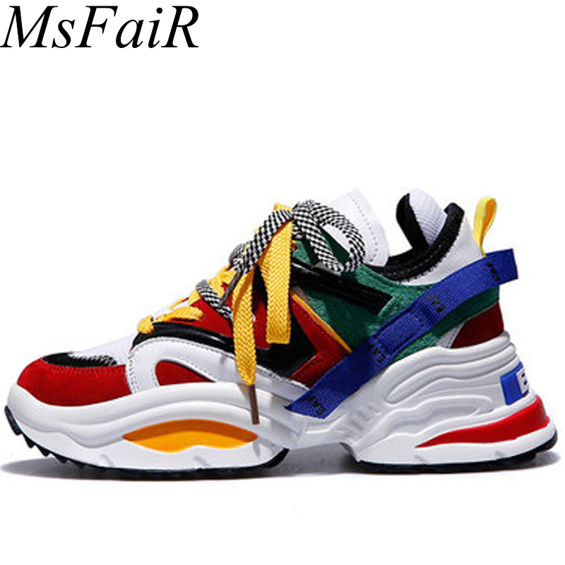 MSFSIR Favourite Women Men Running Shoes Breathable Mesh Female Ladies Girls Sneakers Outdoor Athletic Sport Shoes Man Brand msfsir favourite outdoor athletic men running shoes men brand summer breathable mesh cow leather sport shoes men sneakers run