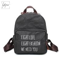 LYDZTION Printing Green Material Kraft Paper Shoulder Bag Book Fashion Idea Letter Pack Bag 2018 New Retro Leisure Travel Bags