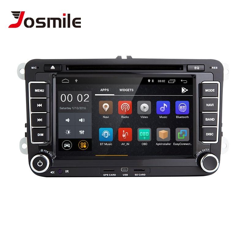 2din Android 8.1 GPS AutoRadio pour Skoda Octavia 2 Passat B6 VW T5 Polo Amarok Volkswagen superbe 3 places Leon Golf 5 6 multimédia