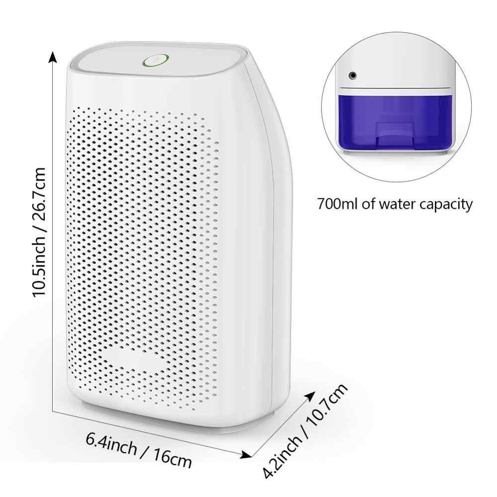 T8 700ml Hause Luft Luftentfeuchter Semiconductor Trockenmittel Feuchtigkeit Absorber Auto Mini Luft Trockner Elektrische Kühlung Maschine fabrik pri